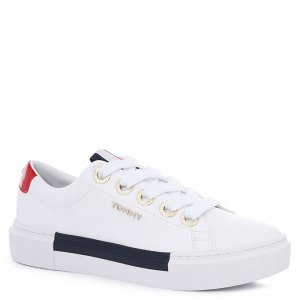 Женские кеды TOMMY HILFIGER LEATHER ELEVATED TOMMY SNEAKER