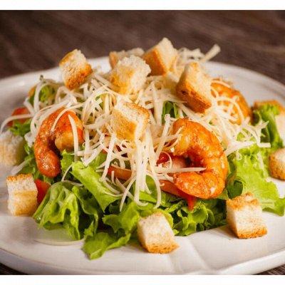 Та самая Японская лапша Seafood от CupNoodle — Новинки! Крутоны для салата Цезарь США