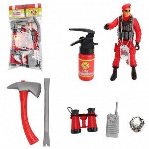 Игровой набор ABtoys Важная работа Пожарный с аксессуарами20