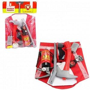 Игровой набор ABtoys Важная работа Пожарный с аксессуарами19