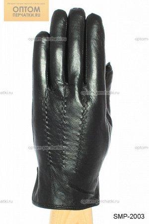 Перчатки мужские кожаные