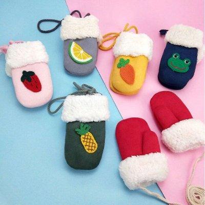 Детская Экономка. Утепляем наших деток. — Милые тёплые варежки — Спортивные перчатки и варежки