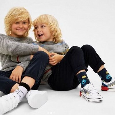 Conte-kids - носки, колготки, леггинсы! Осенняя пора 🍁  — Носки однотонные, с рисунком (р.12-24) дев+мал — Носки и гольфы