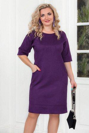 Платье Светло-коричневый,синий, Зелёный , Серо-Коричневый, Фиолетовый, Сливовый, Оливковый, бордо, кофе, черный, Вискоза - 88%, Полиамид - 6%, Лайкра - 6%