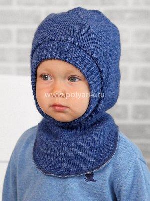 Шлем детский, утеплитель синтепон