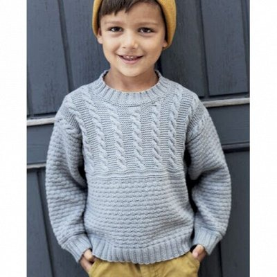 Вязалкин-9. Уютный трикотаж для всей семьи, пряжа — Детская одежда. Мальчики