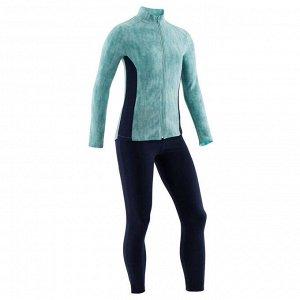 Спортивный костюм утепленный для девочек 100 DOMYOS
