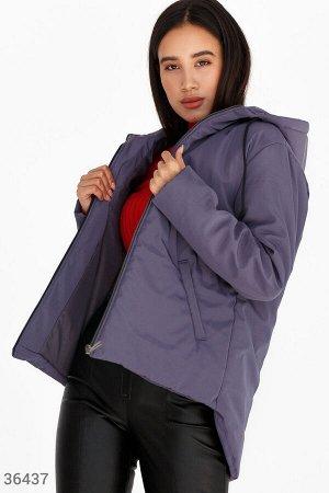 Куртка с удлиненной спиной