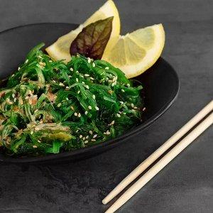 Салат чука Салат «Чука» готовят из дикорастущих водорослей вакаме, которые маринуют. Он готов к употреблению - только разморозить и по желанию добавить ореховый соус. Цена за пачку 500г.