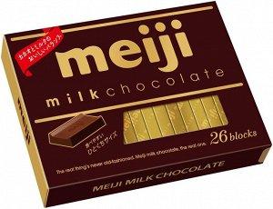 MEIJI Milk Chocolate - молочный шоколад в брусочках