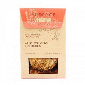 "Чипсы овощные ""Спирулина-гречиха"" EcoSpace"
