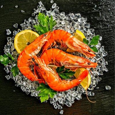Морепродукты вылов 2020, полуфабрикаты и многое другое. — Креветка — Закуски из морепродуктов