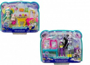 """Игровой набор Mattel Enchantimals """"Бри Кроля в саду"""" 2 вида9"""