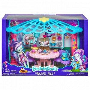 """Игровой набор Mattel Enchantimals """"Чаепитие Пэттер Павлины и Флэпа""""17"""