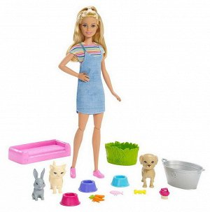 Игровой набор Mattel Barbie Кукла и домашние питомцы2