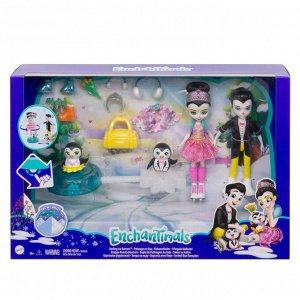 Игровой набор Mattel Enchantimals Фигурное катание32