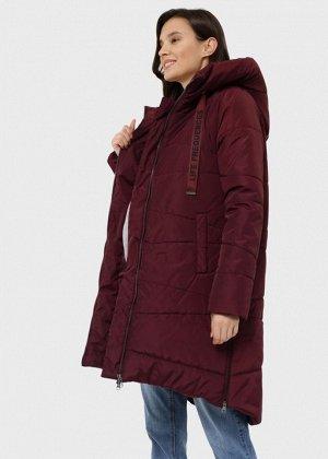 """Куртка зимн. 2в1 """"Глостер"""" для беременных; бургундия"""