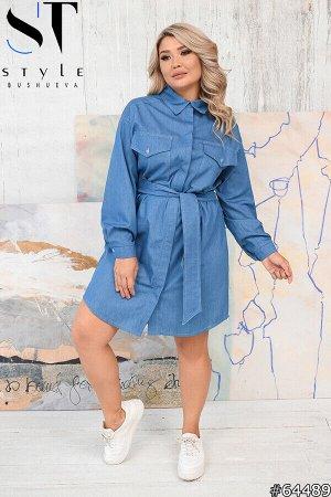 Платье-рубашка 64489