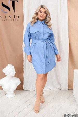 Платье-рубашка 64461