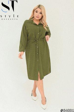 Платье-рубашка 64001