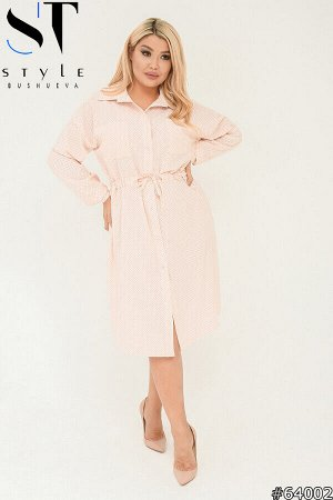 Платье-рубашка 64002