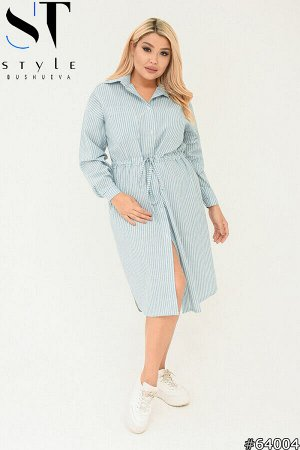 Платье-рубашка 64004