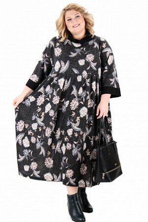 Платье Продуманный крой и выразительный дизайн подчеркивают женственность и достоинства фигуры, а качественная ткань (состав: Вискоза 20%,П/Э 80%трикотаж) обеспечивает максимальный комфорт. Одежда хар