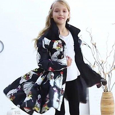 Детская Экономка. Утепляем наших деток. — Куртки-пальто для девочек - Зима — Верхняя одежда
