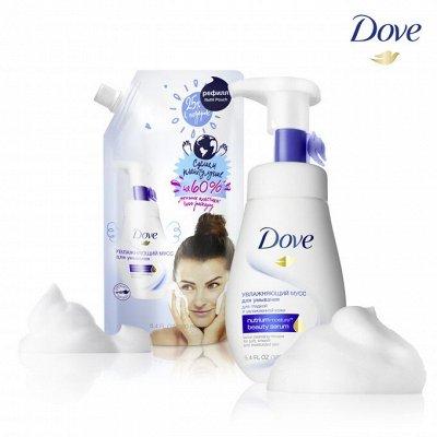 """CLEAR - скажи перхоти """"нет"""" — Средства для умывания и снятия макияжа DOVE — Очищение"""