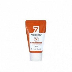 May Island Очищающая пенка для сияния кожи 7Days Secret Vita Plus 10 Cleansing Foam