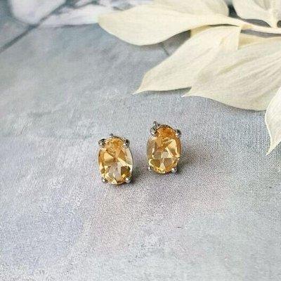 Самоцветы-кулоны из натурального камня — ПУСЕТЫ — Серьги