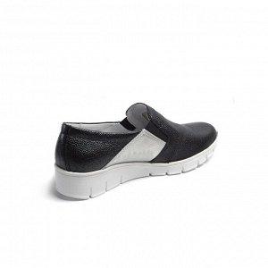 Туфли летние женские, черный