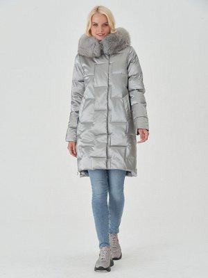 Пальто светло-серый S-XXL