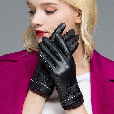Перчатки для всей семьи! Натуральная кожа от 480р