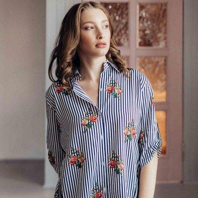 🌸Хороший трикотаж 🌸для дома и отдыха!  — Рубашки женские — Рубашки