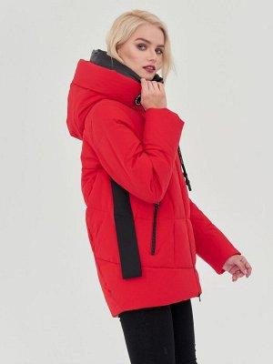 Куртка красный/черный S-XXL