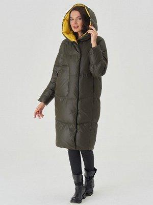 Пальто хаки/желтый S-XXL