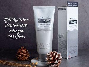 «3W Clinic» Collagen Whitening Peeling Gel Осветляющий пилинг гель с коллагеном, 180 мл