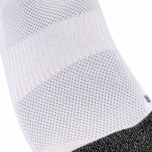 Носки-следки для ходьбы WS 500 Fresh Invisible бело-черные NEWFEEL