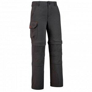 Детские модульные брюки для походов 7-15 лет MH500 QUECHUA