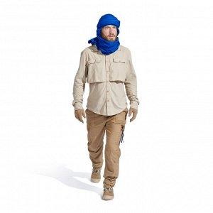Мужская рубашка с длинными рукавами для треккинга в пустыне DESERT 500 FORCLAZ