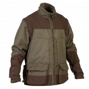 "Куртка муж. для охоты ""дышащая"" со съемными рукавами 900 SOLOGNAC"