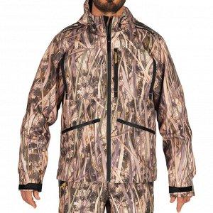 Непромокаемая камуфляжная куртка муж. для охоты 500 SOLOGNAC