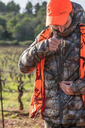 Куртка муж. утепленная для охоты камуфляжная 900 SOLOGNAC