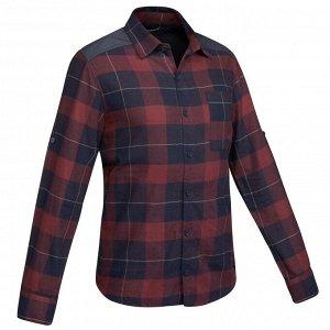 Рубашка для путешествий мужская TRAVEL 100 FORCLAZ