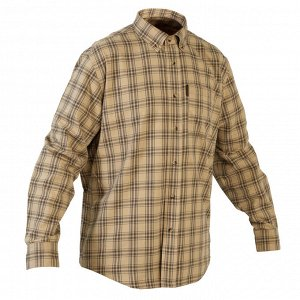 Рубашка муж. для охоты 100 SOLOGNAC