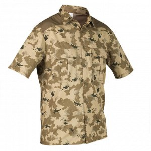 Рубашка муж. камуфляжная для охоты 100 MC SOLOGNAC