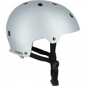 Шлем H PLAY 5 для взрослых светло-серый OXELO