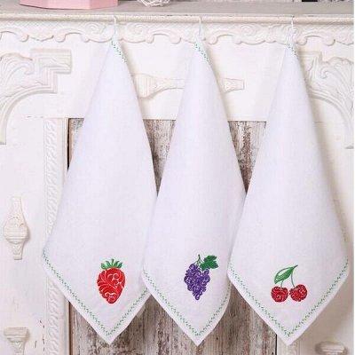 ИВАНОВСКИЙ текстиль - любимая! Новогодняя коллекция! — Текстиль для кухни - Полотенца - Льняные — Кухонные полотенца