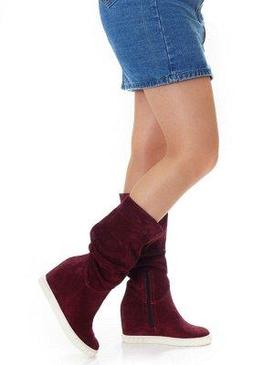 Ботинки Страна производитель: Турция Размер женской обуви x: 36 Полнота обуви: Тип «F» или «Fx» Сезон: Зима Вид обуви: Полусапоги Материал верха: Замша Материал подкладки: Натуральный мех Каблук/Подош